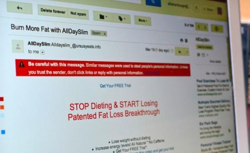 Gmail no miente: nadie bajará de peso respondiendo a ese mensaje de correo electrónico.
