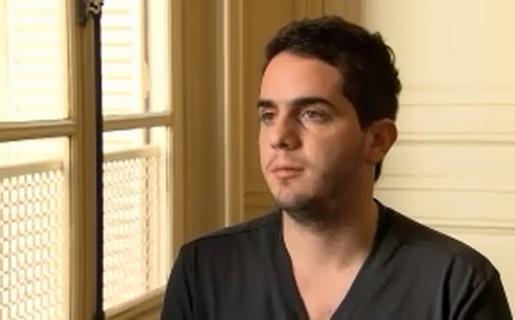 Tomás Escobar, durante la entrevista con TN Tecno (Crédito: Captura de YouTube)