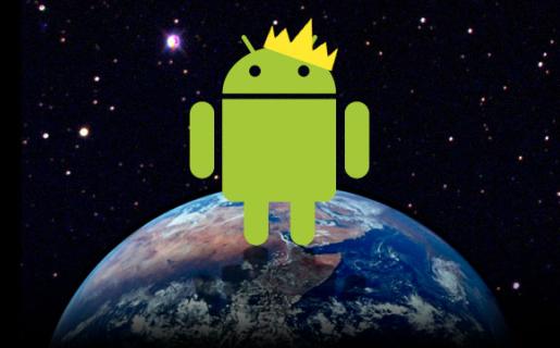 Android por primera vez supera la mitad del mercado de smartphones en EE.UU.