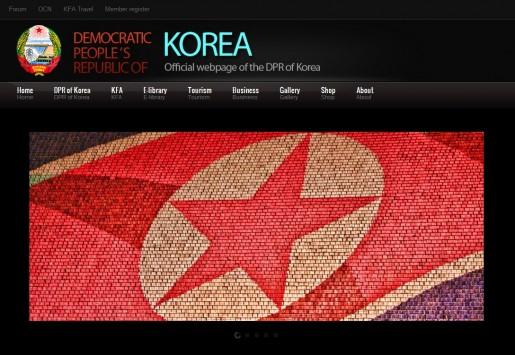 El estudiante Michael DiTanna descubrió trazas de código open-source en la página oficial de la Corea comunista, y reveló que usaron una plantilla comprada.
