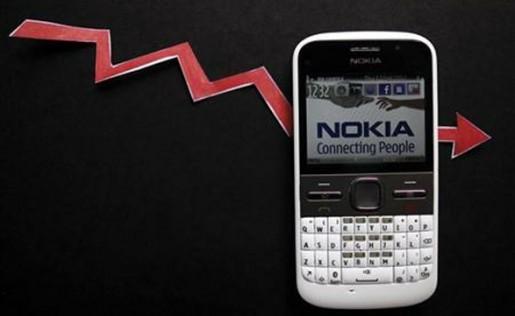 Nokia continúa cayendo en picada y perdiendo dinero a raudales.