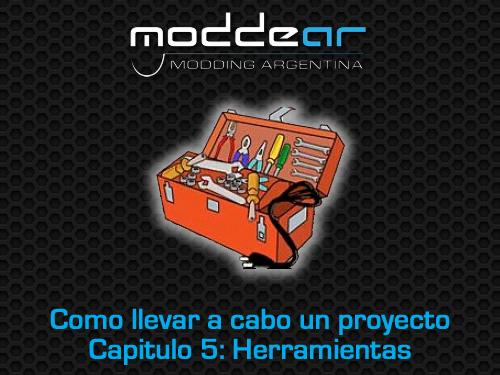 Minitorno, limas e intrumentos de medición y corte: los tres grupos de herramientas imprescindibles para cualquier modder.