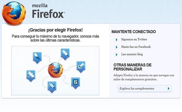 La nueva interfaz de Firefox 13 sorprende y agrada al mismo tiempo.