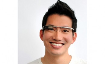 Google Glass, presentado en Google I/O.