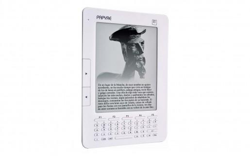 La pantalla tiene 16 tonos de gris, lo que le permite mostrar imágenes con una definición aceptable. El texto tiene una legibilidad excelente.