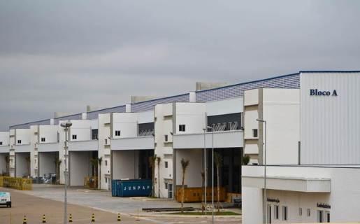 La planta de Foxconn en Jundiai, estado de San Pablo, donde se fabrica el iPhone y algunos modelos de iPad.
