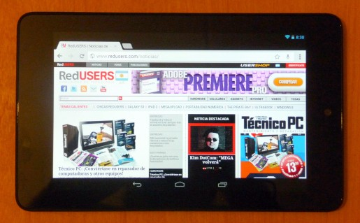 La tablet desarrollada por Google será el esperado iPad killer?