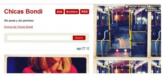 La pagina de Tumblr del proyecto