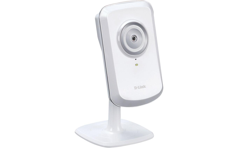 Esta es la D-Link DCS-930L, una cámara hogareña que puede funcionar en conjunto con un smartphone para vigilar cualquier ambiente pequeño
