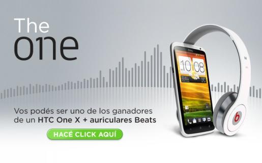 """El pack se compone por un HTC One X y los auriculares Beats """"SOLO""""."""