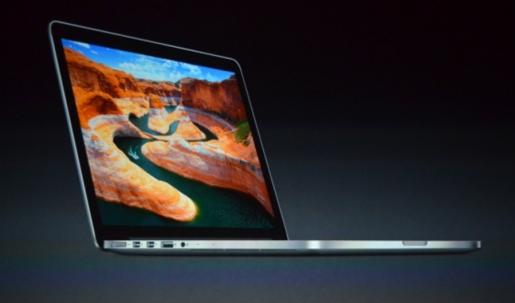 La flamante MacBook de 13 pulgadas con Retina Display