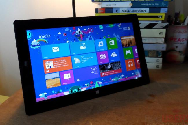 La esperada Microsoft Surface, analizada a fondo en RedUSERS Labs