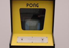 La primera versión de cabina de PONG, un juego histórico
