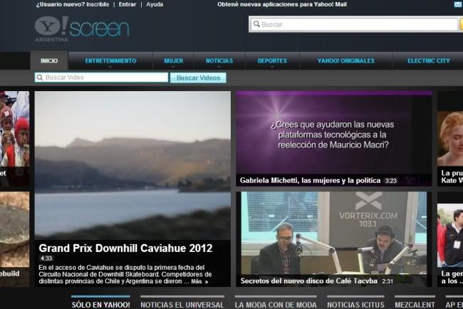 La nueva plataforma de Yahoo! permite acceder a contenidos exclusivos