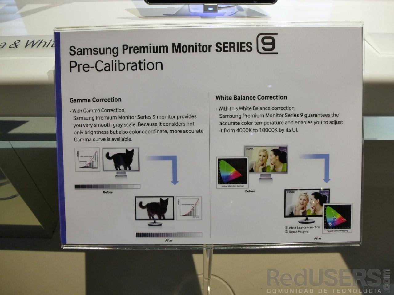 Los nuevos monitores de la Serie 9 tuvieron su lugar en el Booth de Samsung