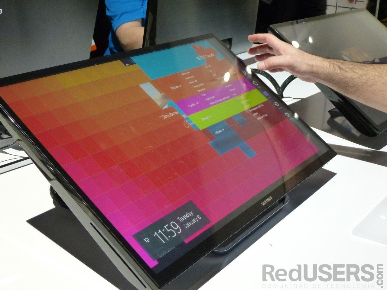 Las pantallas táctiles ganan terreno y suman funcionalidad y estilo