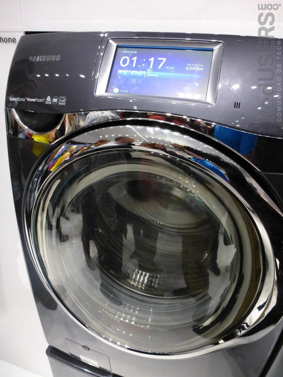 """Los lavarropas ahora también son """"smart"""""""