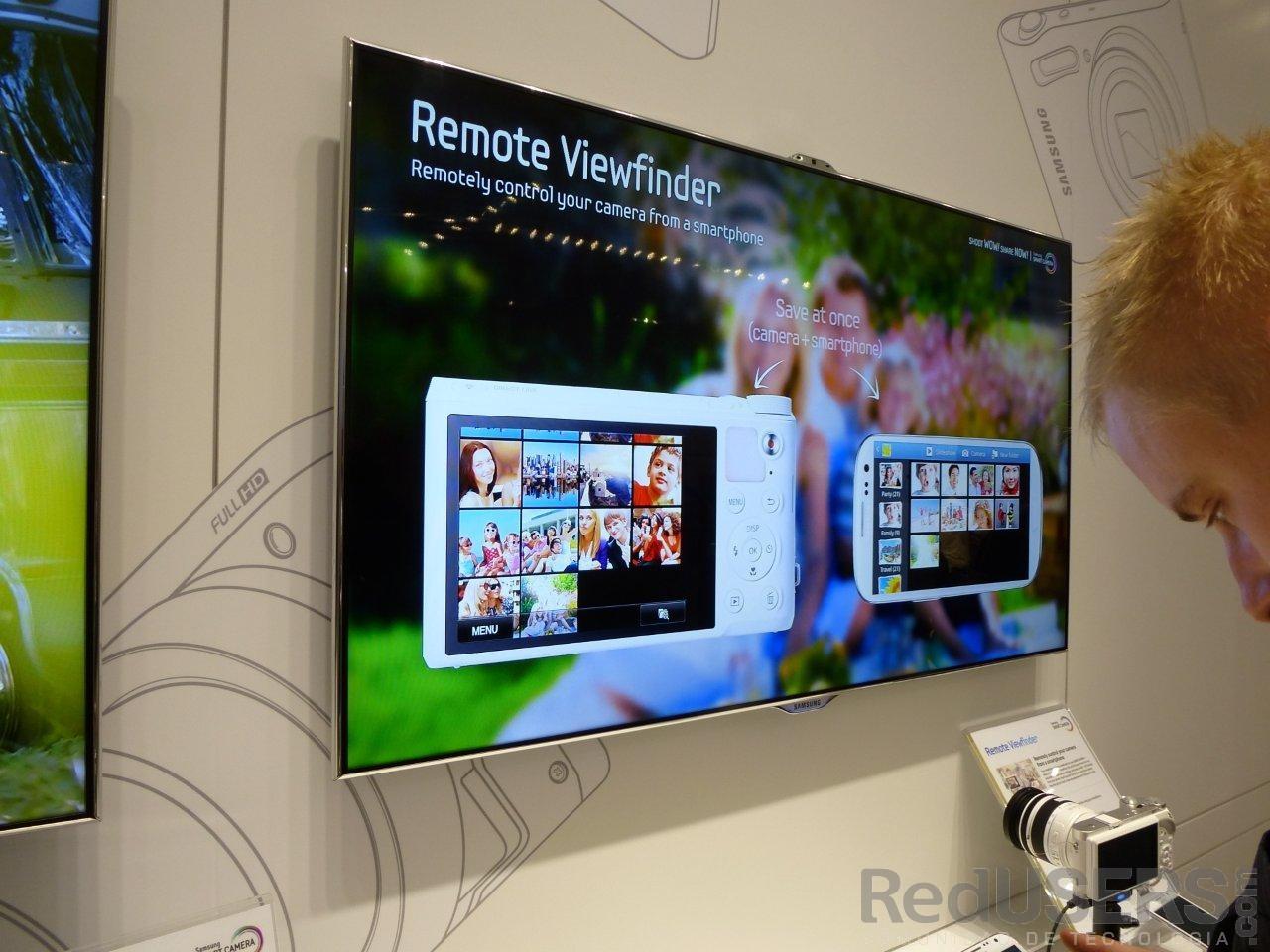 Remote Viewfinder permite ver las fotografías, de manera remota, en un smartphone o tablet
