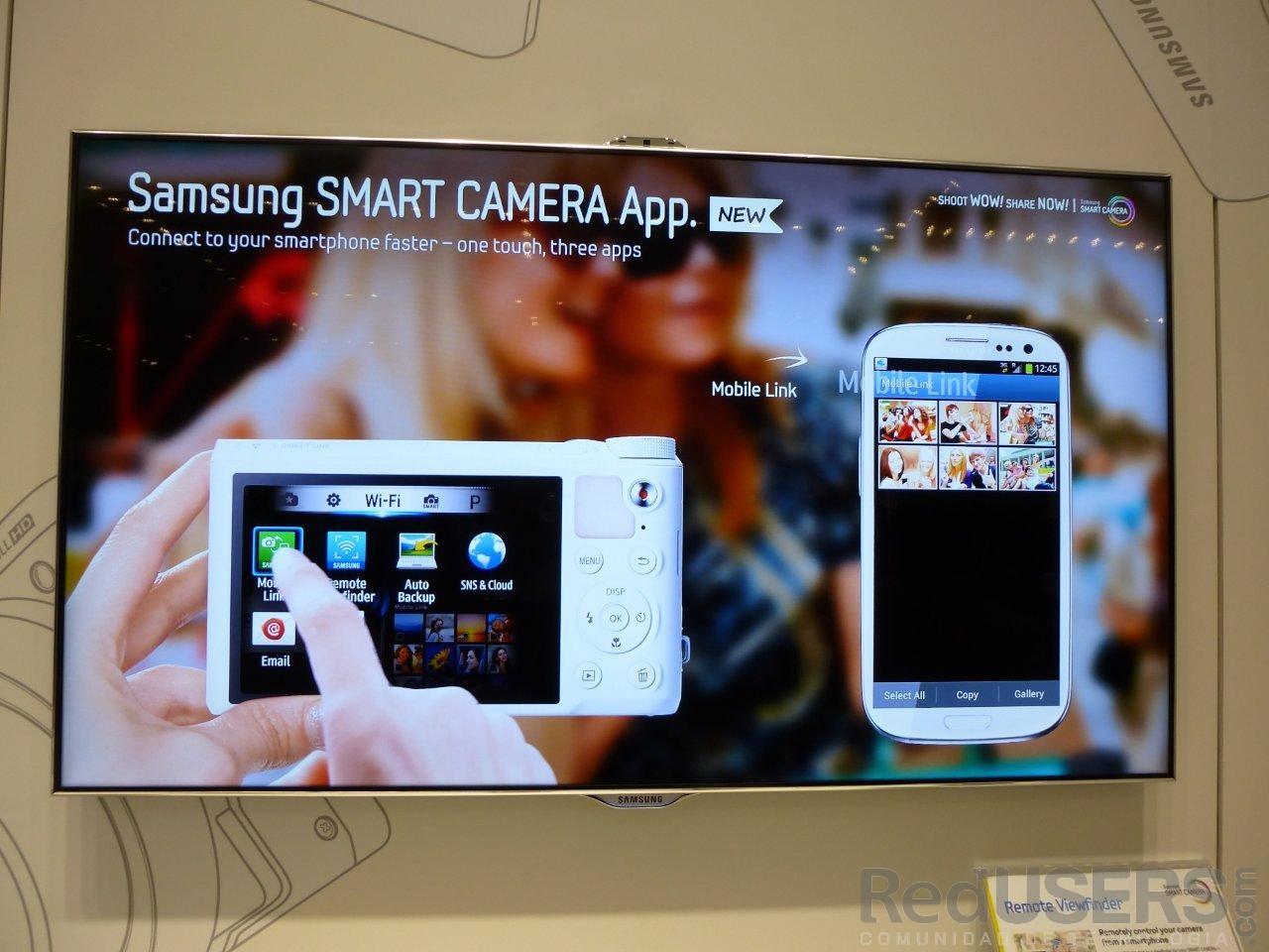 Mobile Link, la app para pasar fotos de la cámara al teléfono, está disponible en Google Play
