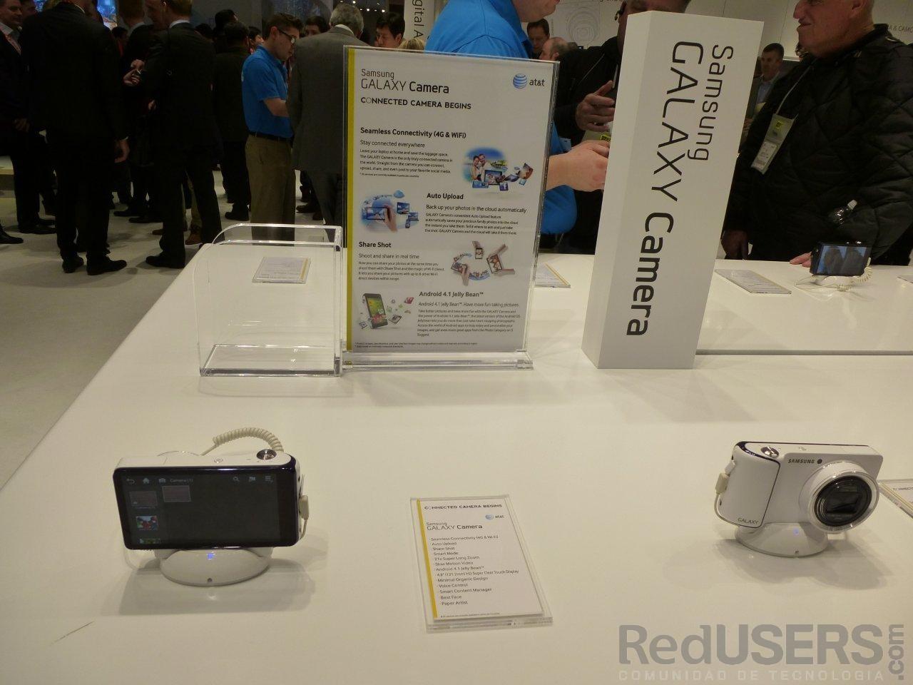 La Galaxy Camera, uno de los últimos lanzamientos de Samsung antes de la CES