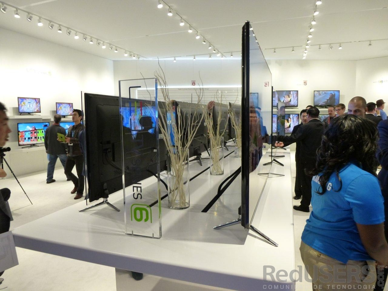 El diminuto grosor de las pantallas de Samsung
