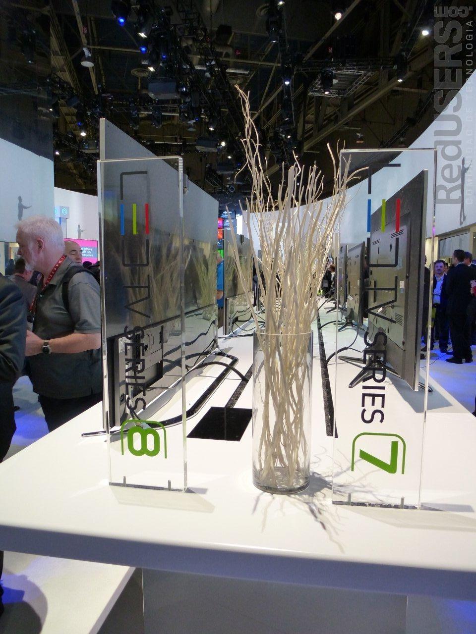 LED TVs Serie 8, presentes en la CES