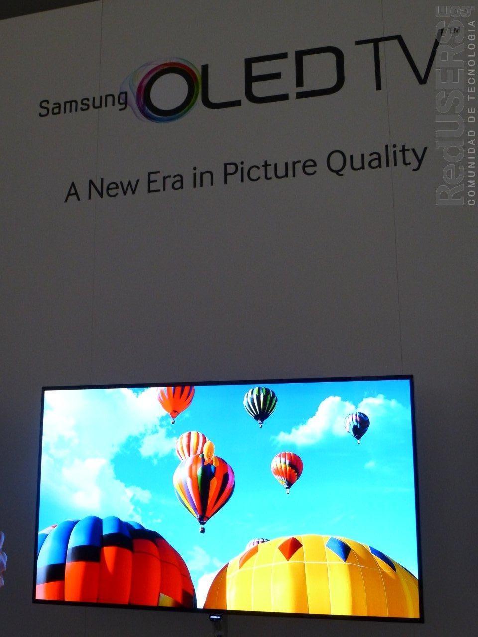 El rincón OLED de Samsung en la CES