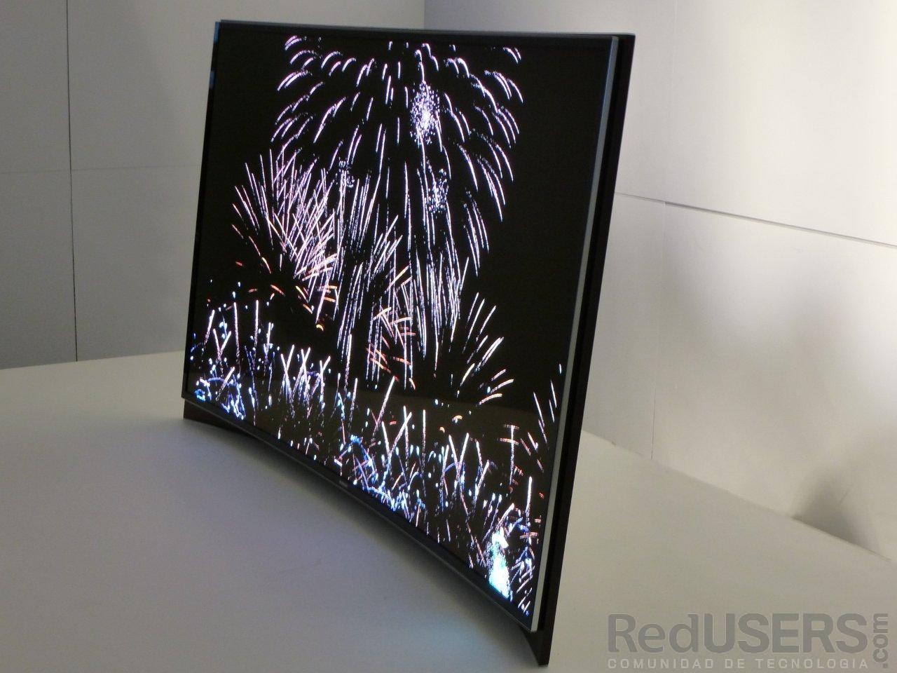 El novedoso diseño mostrado por Samsung, en exhibición