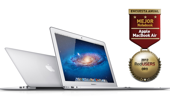 MacBook Air, la notebook más deseada por los lectores de RedUSERS.