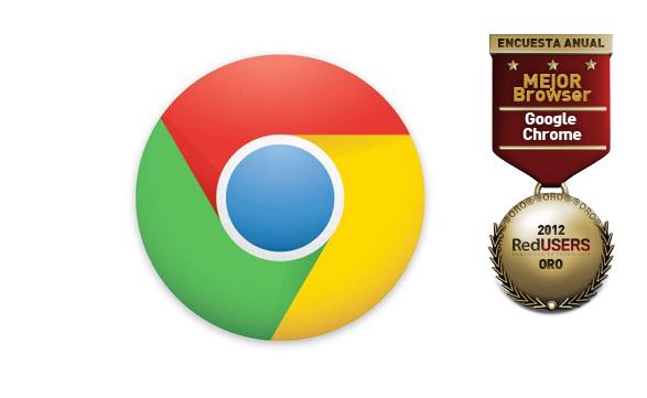 Chrome fue elegido como el mejor browser por los lectores de RU.com