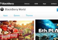 """Les presentamos a la tienda de descargas """"BlackBerry World""""."""