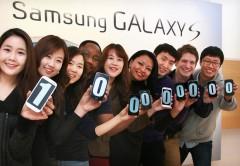 Sólo el Galaxy S III vendió 40 millones.