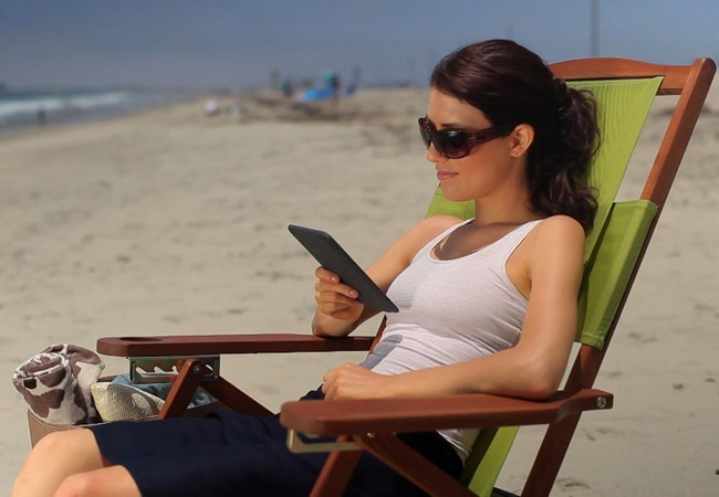 Los lectores fanáticos pueden optar por llevarse un e-reader y leer todos los ebooks de USERS, por ejemplo :)