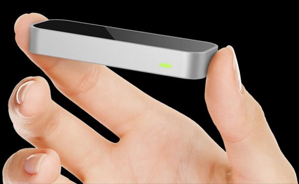 Prototipo del sensor de movimiento Leap Motion que equipará a algunos modelos de Asus.