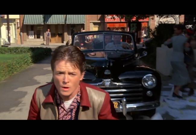 Siempre hay una excusa para volver a ver a Marty McFly