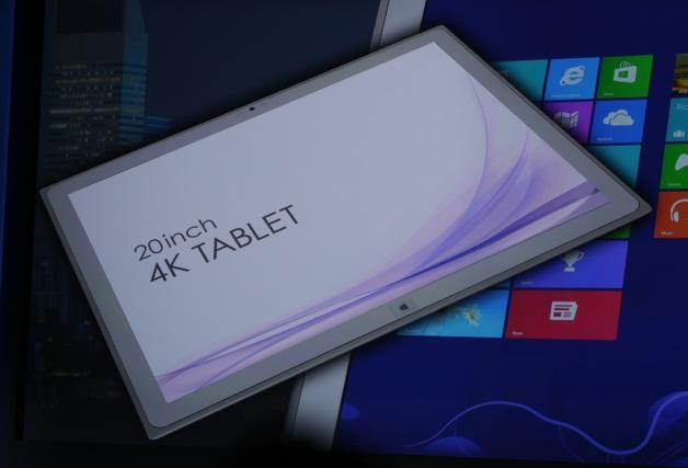 La tablet de Panasonic de destaca por su tamaño y su magnífica resolución