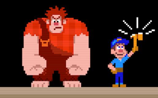 Disney homenajea a los juegos de 8 bits de los ochenta de la mejor manera posible.