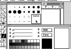 Las paletas de herramientas de la versión original de Photoshop continúan siendo básicamente iguales luego de más de 20 años. Todo un ejemplo de buena programación.