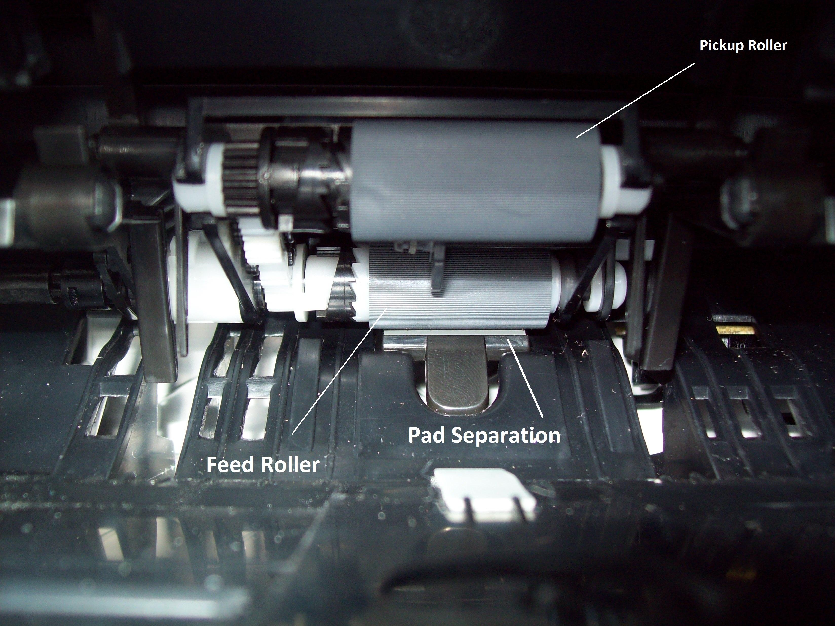 Esta series de impresoras trae un eficiente sistema de recolección de papel.