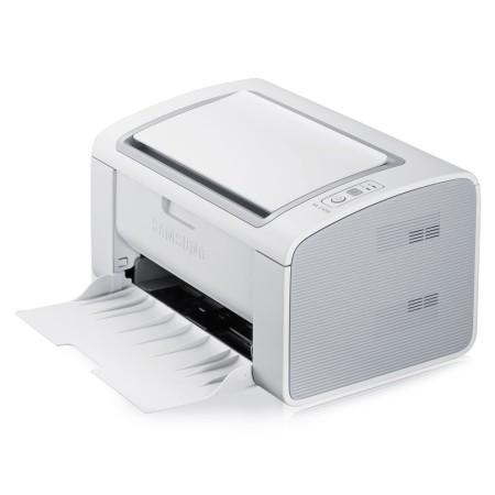 La ML-2165w es la impresora base. Pequeña e inalámbrica la mezcla justa para optimizar espacios.