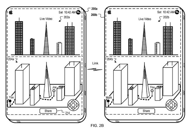 El concepto de realidad aumentada ya ha sido llevada a los hechos, pero Apple aspira a darle una vuelta de tuerca al volverla una experiencia colaborativa.