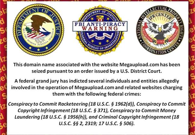 La acción contra Megaupload tuvo tanto de práctica como de caracter ejemplificador.