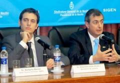 Norberto Carlos Berner (Izquierda) será el nuevo titular de la Secretaría de Comunicaciones