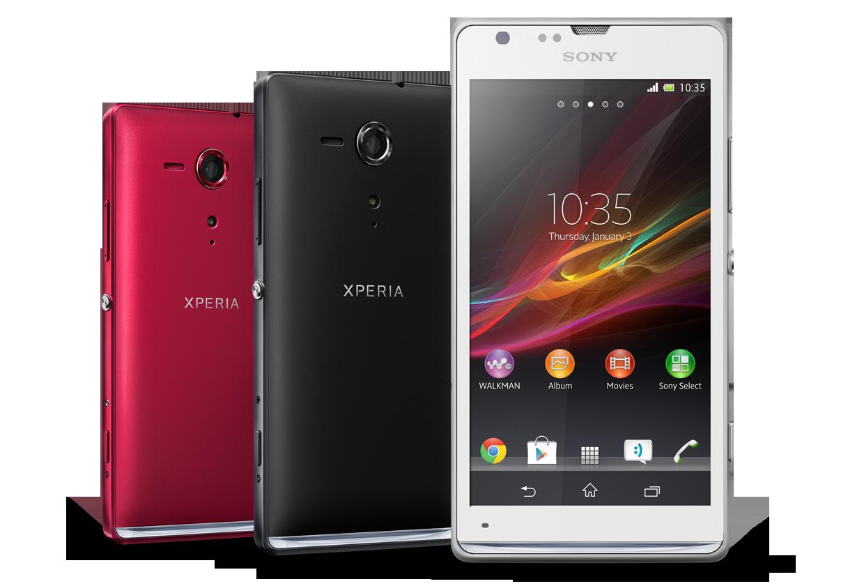 Sony presenta el Xperia L y Xperia SP  sus nuevos terminales AndroidXperia Sp Red