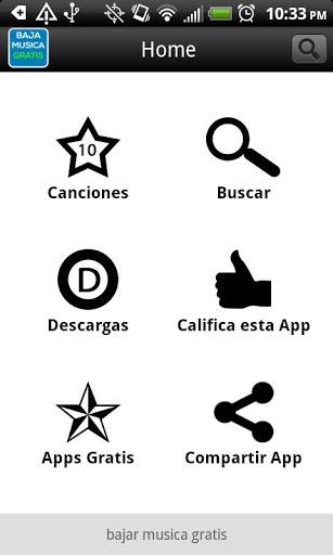 Bajar musica gratis en español