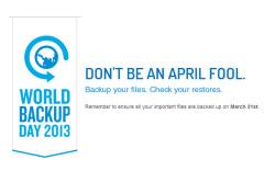 """""""No seas inocente, respalda tus archivos, revisa tus copias"""", es el lema del Día Mundial del Backup"""