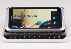 La línea E-Series de Nokia, como el E7, fue desarrollada por Infinity.