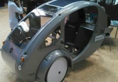 ELF, el ¿triciclo solar? que muy pronto veremos andar por las calles.