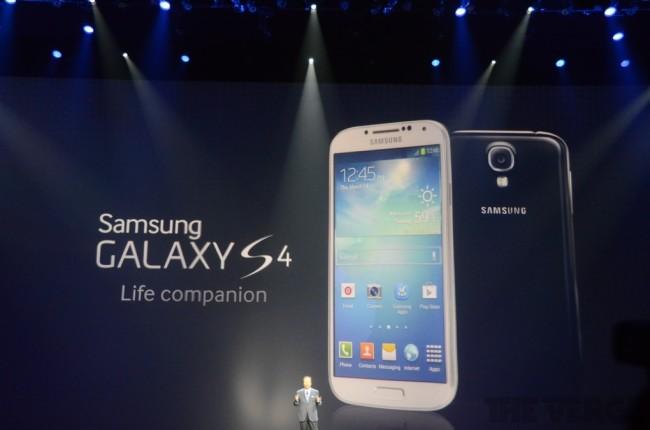 El Samsung Galaxy S4 ya es una realidad. En abril llegará a 155 países, a través de 327 carriers