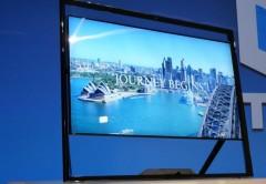 El SmartTV 85S9 es uno de los productos que Samsung presentó en la CES y ahora en el Fórum América Latina.